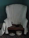 picture of a mid-19th-century American commode chair